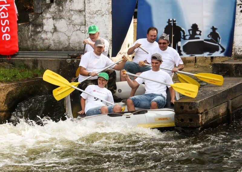 Betriebsausflug Rafting