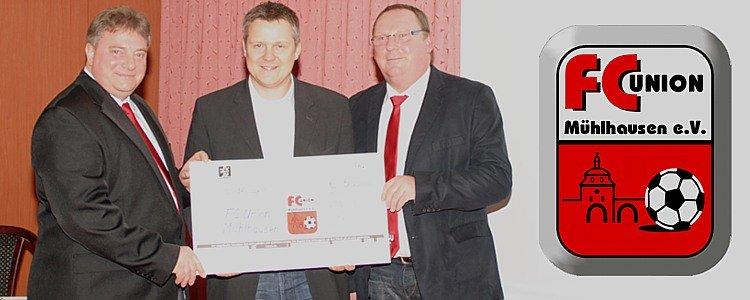Sponsorenempfang FC Union Mühlhausen